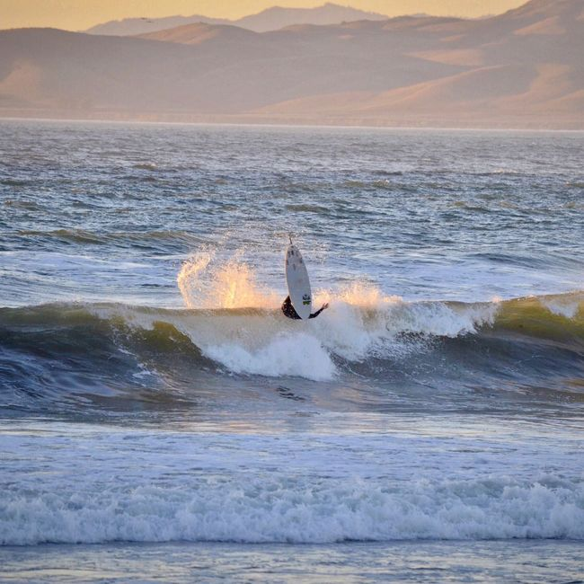 Sea Wave Water Nature Real People Lifestyles Waterfront Leisure Activity Surf Beauty In Nature Surfing One Person Adventure Men Sport Sunset Surfboard Speed Outdoors Motion California Check This Out Eye4photography  EyeEm Best Shots Ocean