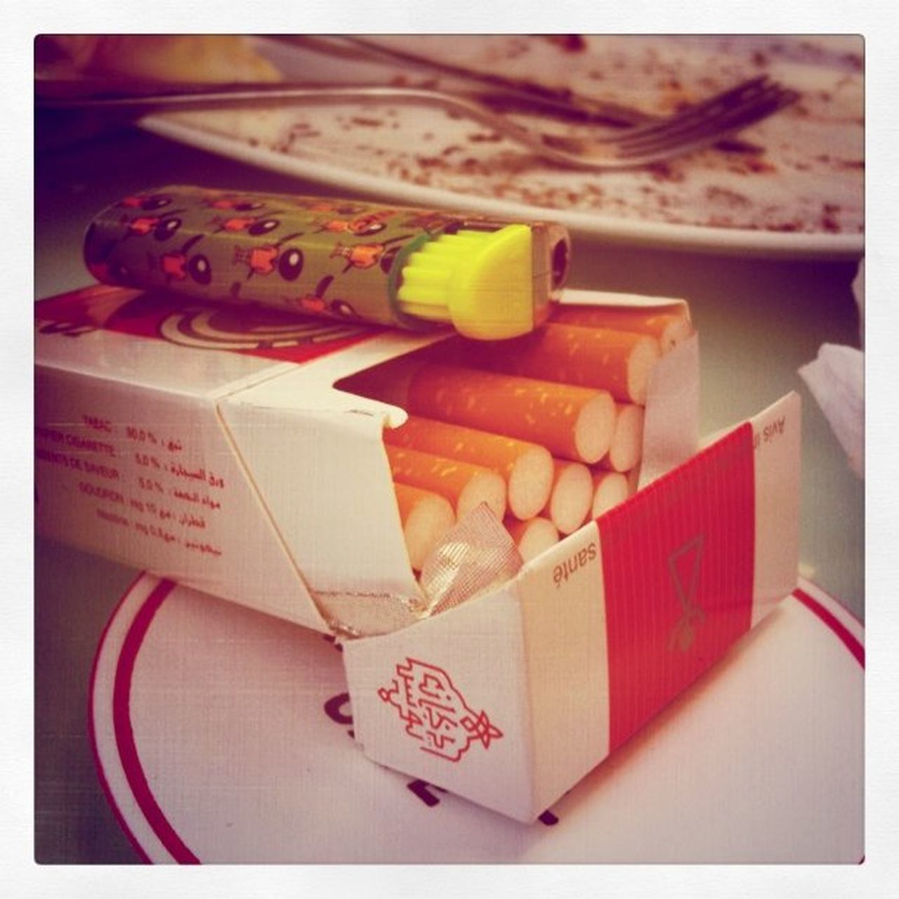Tunisian cigarettes