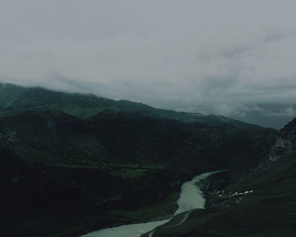 Mountain Distance Enjoy The Silence On The Way Eruh
