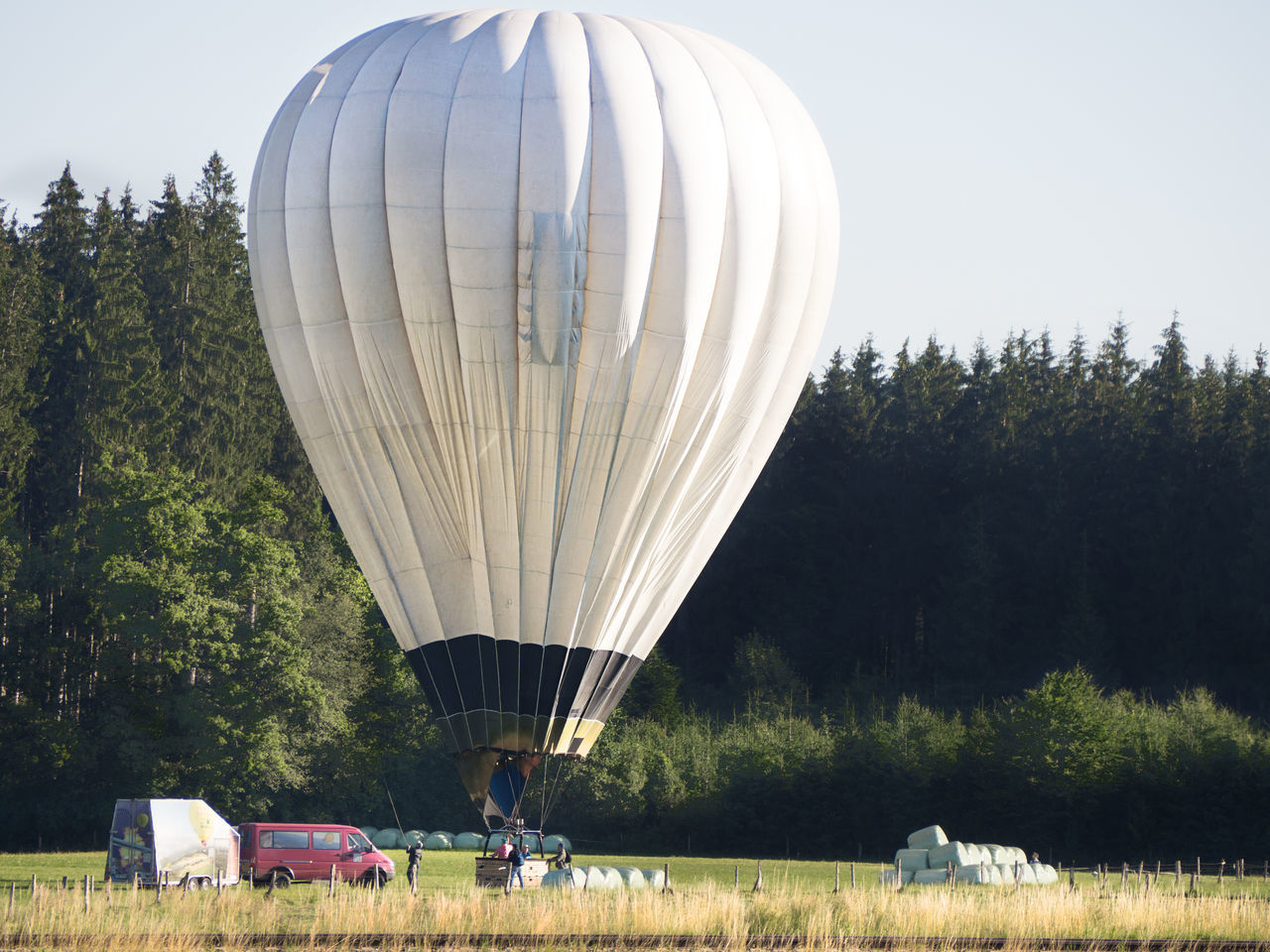hot air balloon landing Baloon Hot Air Balloon Hot-air Balloon Landing