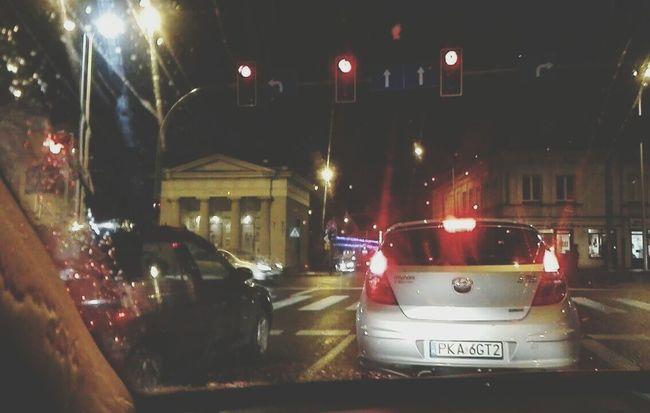 City Kalisz Polska Polish Jazda Night Street