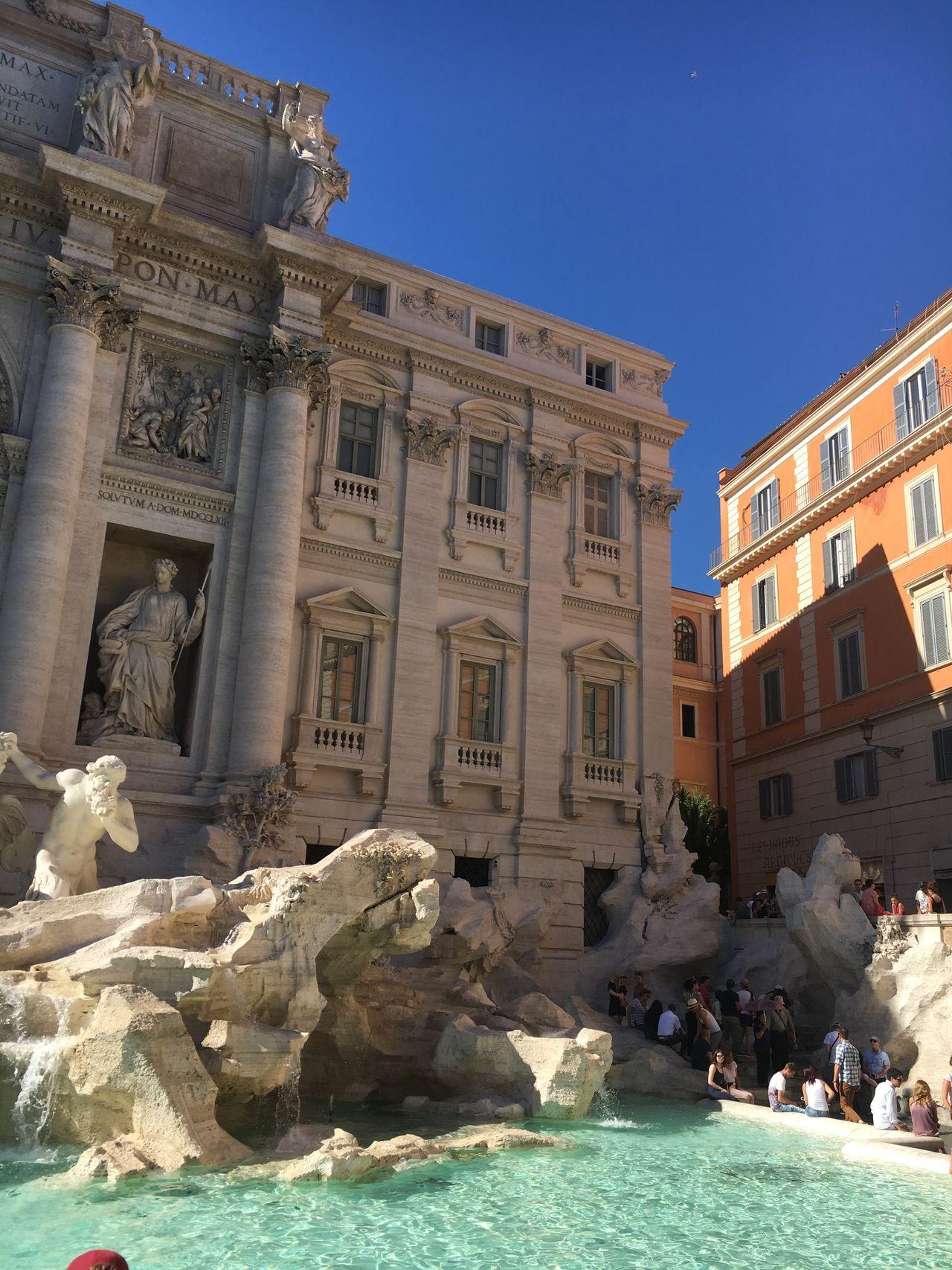 Fontana Di Trevi Fontana Di Trevi Rome Italy My Summer Vacation 2016 Roma Trevi Fountain