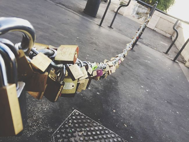 Love Amor Amore Couple Forever Lucchetto Padlock Rome Roma Italy Summer Holiday