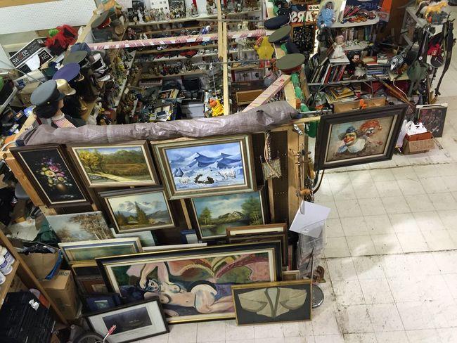 Art Fleamarket Flea Markets Market
