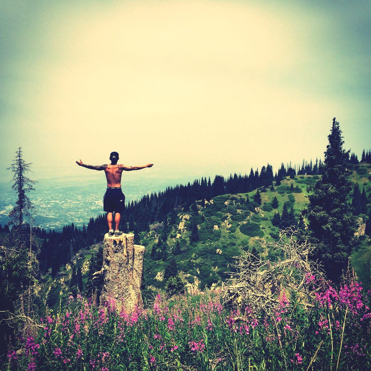 Trek Trekking Nature Godday Goodlife Kazakhstan