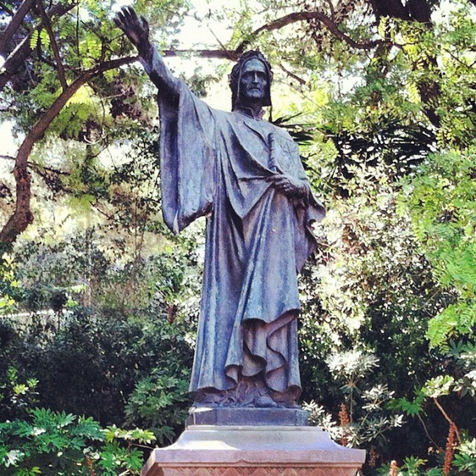 #dante davant dels jardins #brossa Dante Brossa