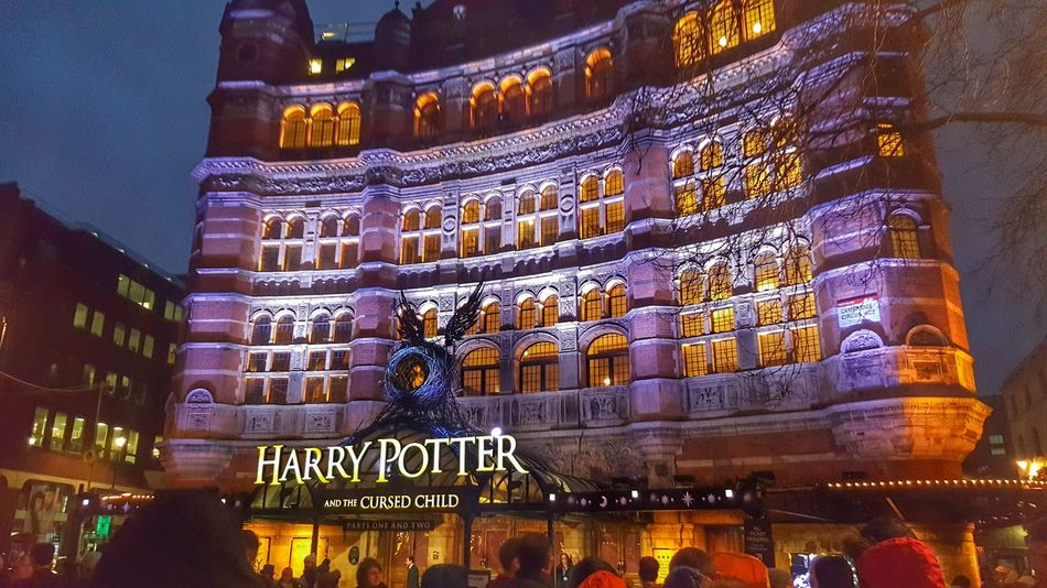 Harry Potter Cursed Child Harry Potter Palace Theatre  London Night