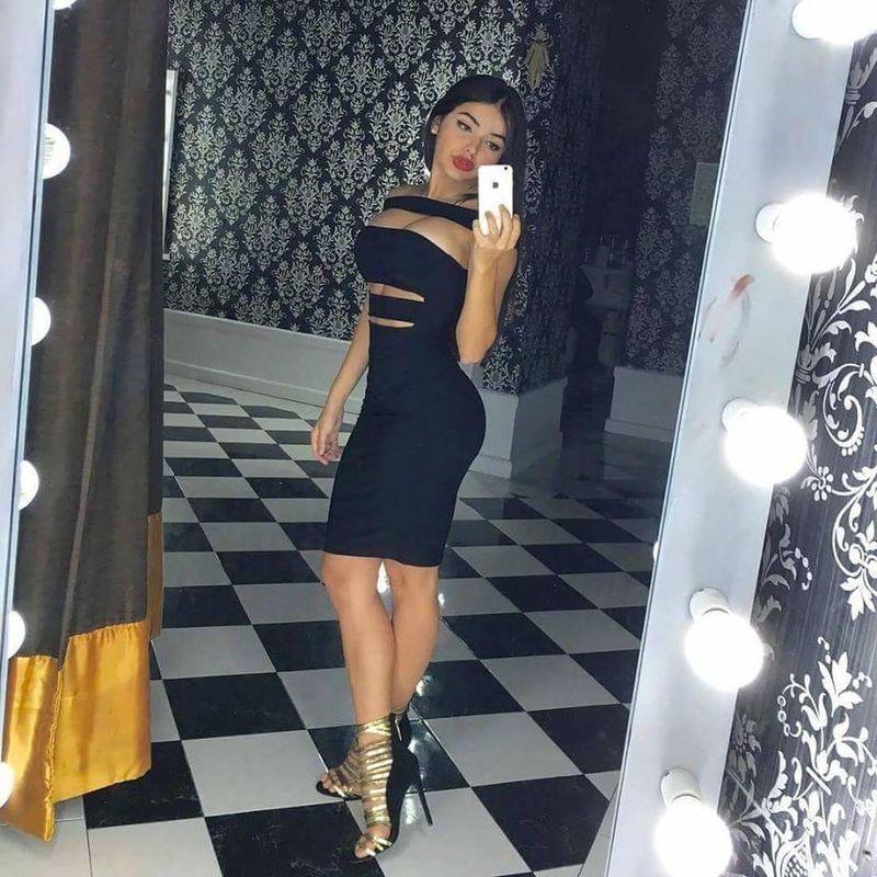 Last night 😘🙆💅👑 Beauty Loveit Dress Hotlook.♡♡ SelfieInMirror