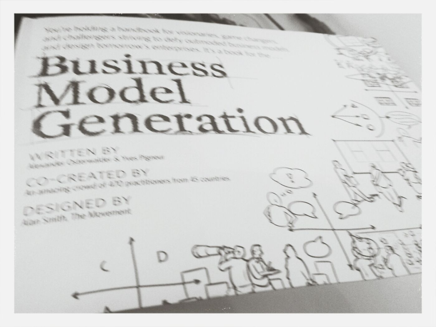 Digging & Learning about Business Model Generation Business Model Canvas At Internship #powersalescommunications
