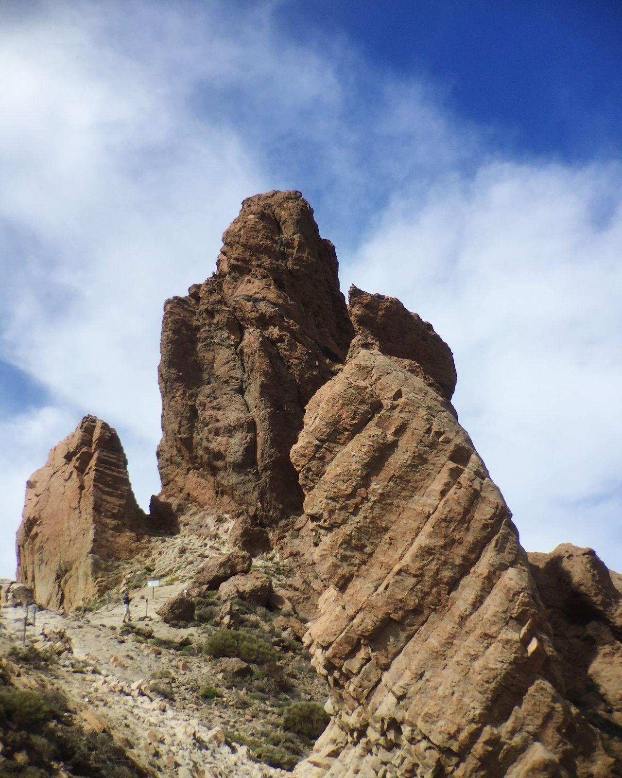 Parque Nacional Del Teide Tenerife Mountain Rock Formation