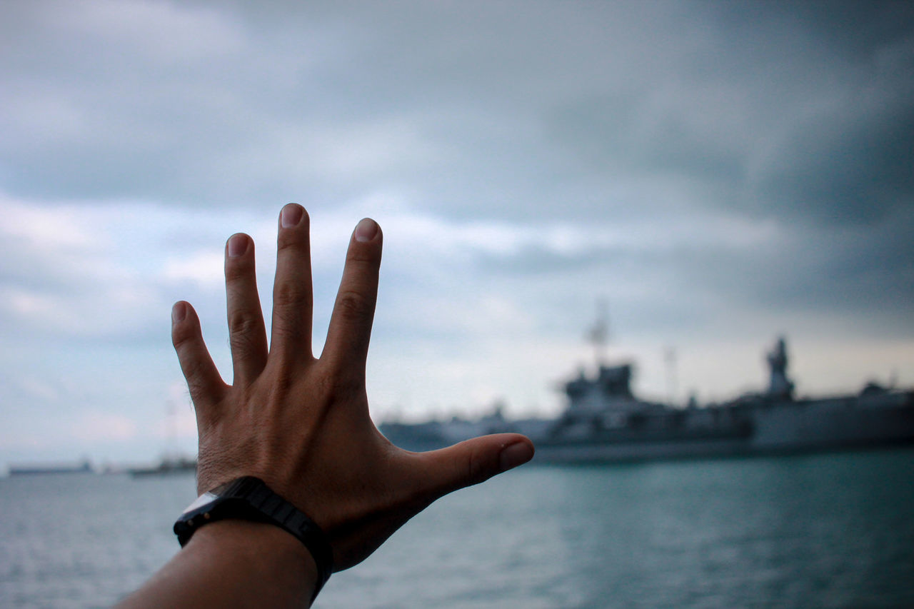 Human Body Part Human Hand Cloud - Sky Sky Beach Outdoors Sea Men City Adult Adults Only One Person Day People Nature Close-up Ships⚓️⛵️🚢 Shipping Docks Ship Details Shiplife Shipping  Unlimited sky
