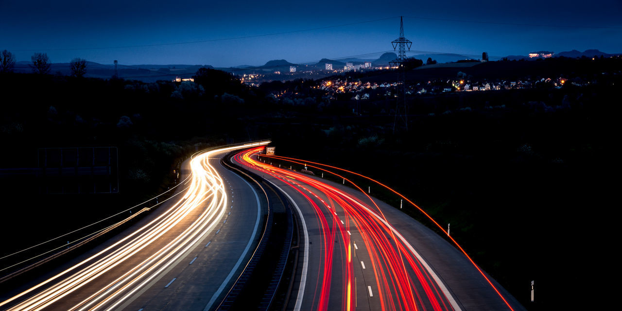 Beautiful stock photos of transport, Blurred Motion, Car, City Life, Curve