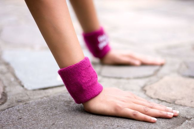 Athleisure Focus On Foreground Fitness Pink Hands Fitness Training Hands Only People Conceptual Women Woman Fashion Wellness Part Of Blur Outdoors Melbourne Australia
