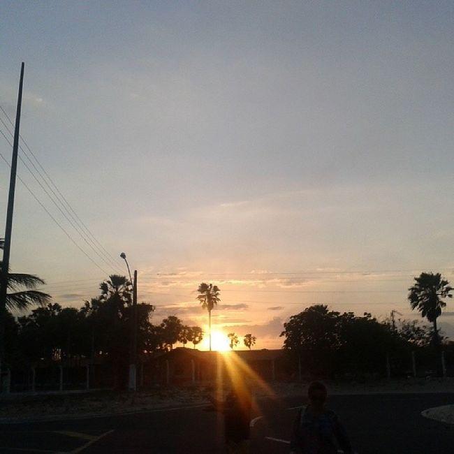 Final de tarde na LagoaDoPortinho Parna íbaPI