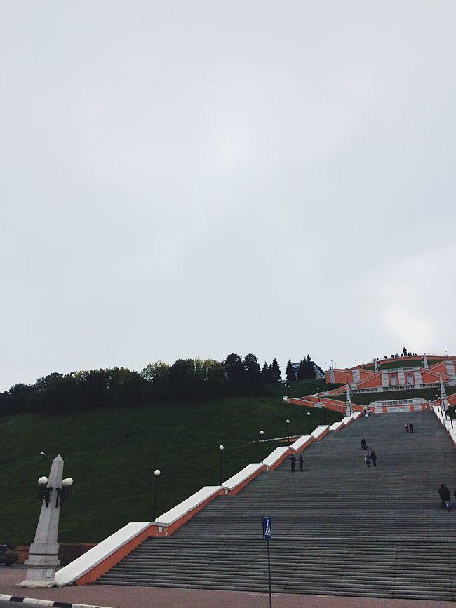 Tourism Travel Clear Sky Novgorod People