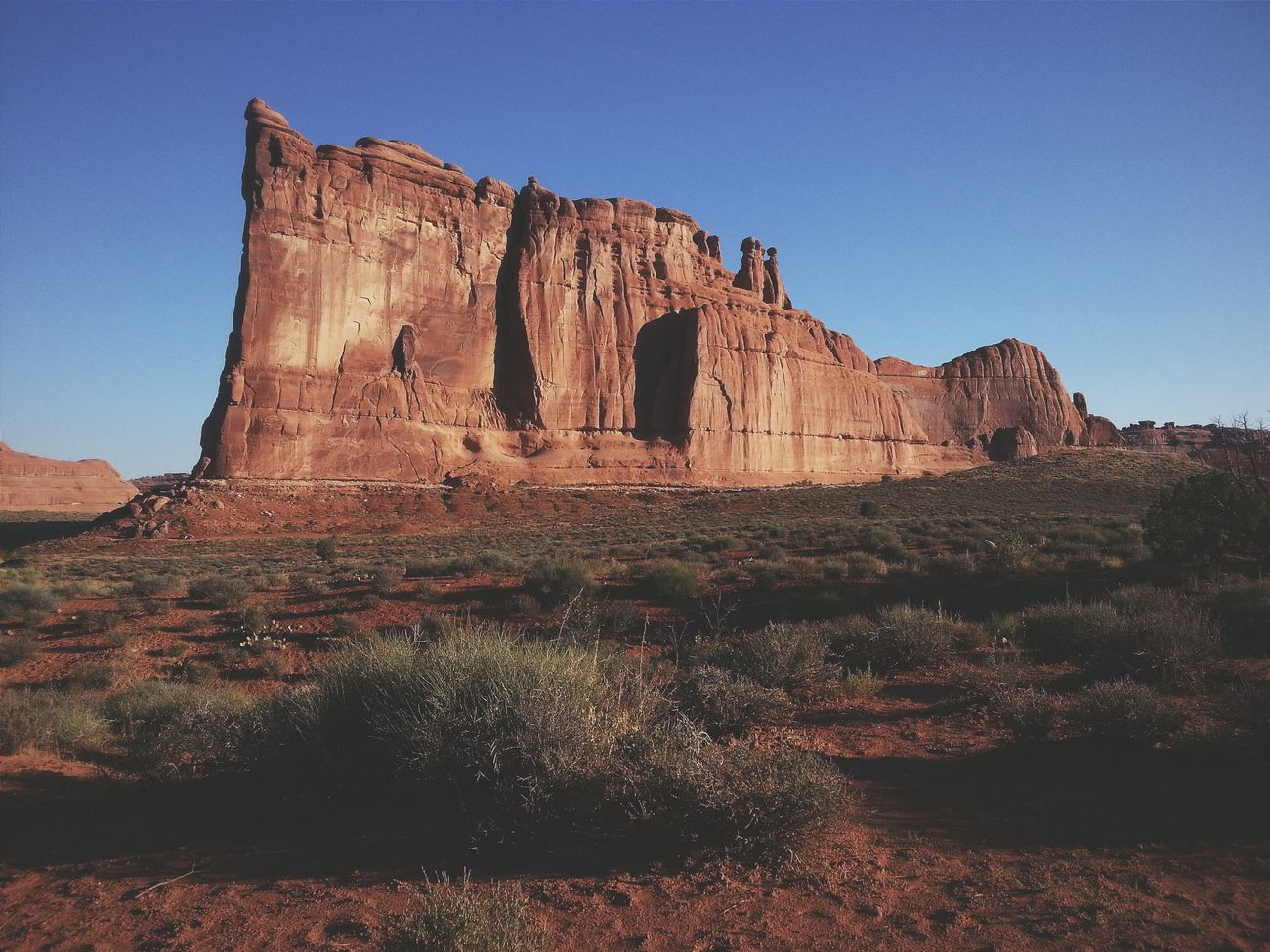 The Tower of Babel, but no words needed. Arches National Park, Utah. RoadTripxUSA Arches Utah