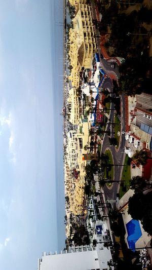 Spain🇪🇸 Benalmádena Veiw From Mywindow Málaga Spain ❤ Heat Sundown