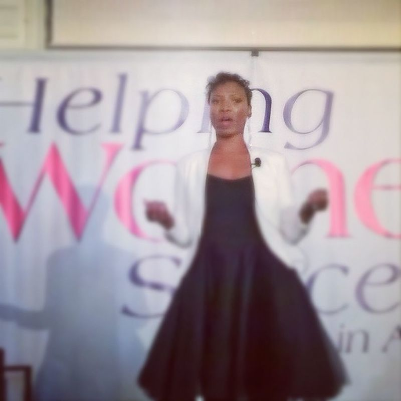 Dr. Verwayne is speaking an awesome word on mental fitness at the Helping Women Succeed Global Summit Getagrip