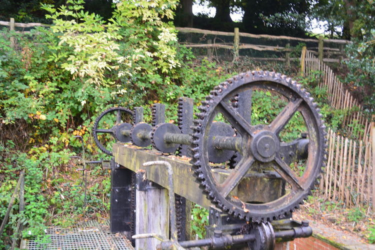Old Machinery In=d Indusrty Metal No Edit/no Filter Quarry Bank Mill