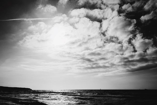 Blackandwhite Beach Photography Sunshine