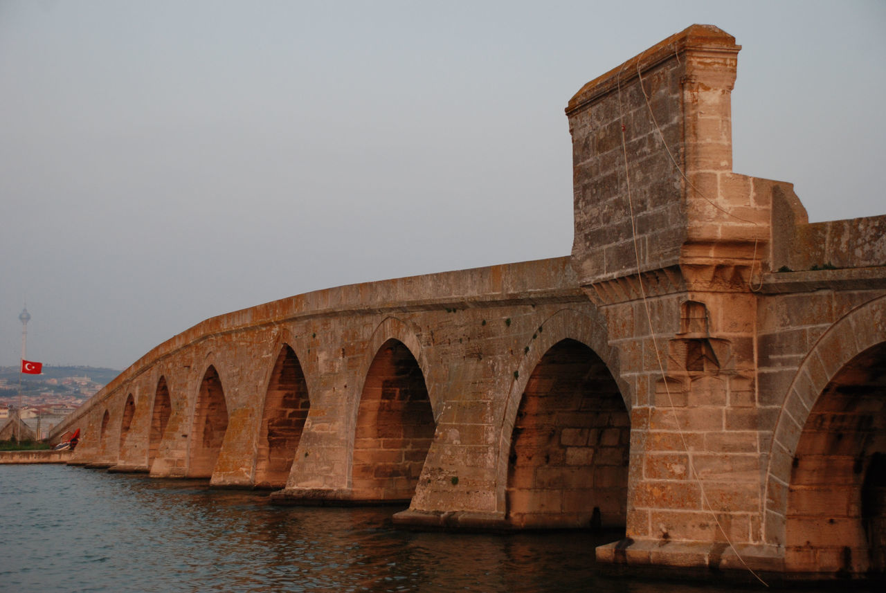Mimar Sinan Bridge 16th c. 16th Century Arch Architecture Bridge - Man Made Structure Bridge View Built Structure BUYUKCEKMECE City Day History Istanbul Mimarsinan Nature No People Ottoman Architecture Outdoors River Sky Sunset Travel Destinations Turkey Water