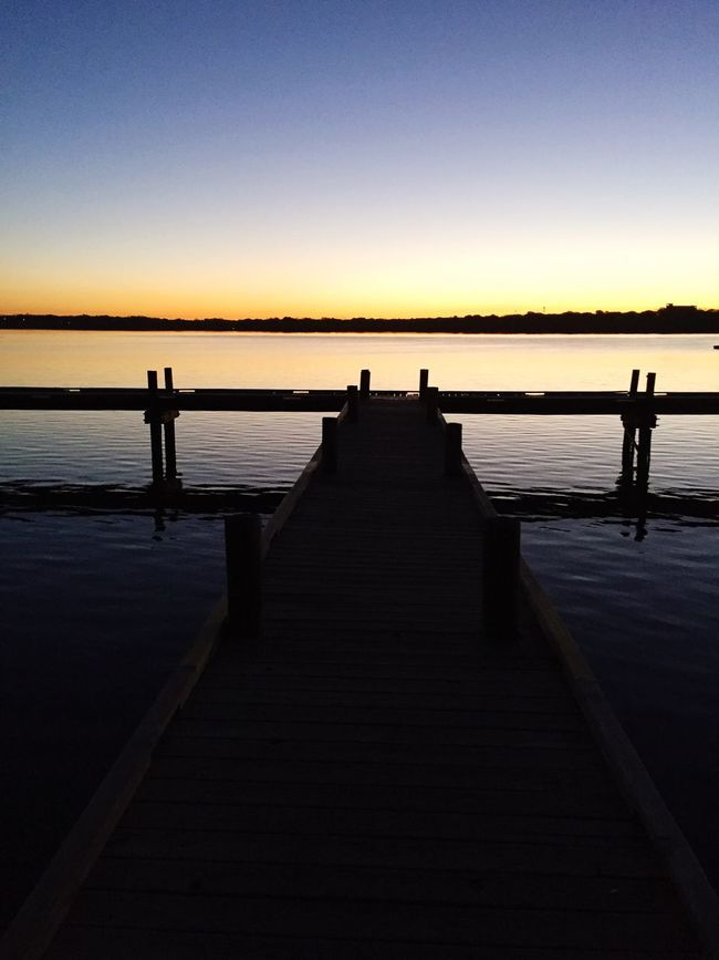 Morning on the Dock. At White Rock Lake Morning Sunrise White Rock Lake Dock Lake Lake View Good Morning Clay Hayner Photo Photography Photooftheday Photo Of The Day Nature Landscape First Eyeem Photo