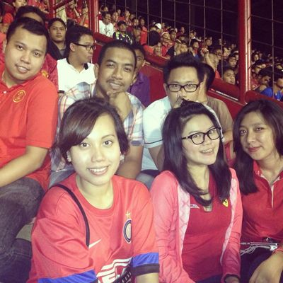 watching the game at Stadion Andi Mattalatta (Mattoangin) by Qanizah amaliah