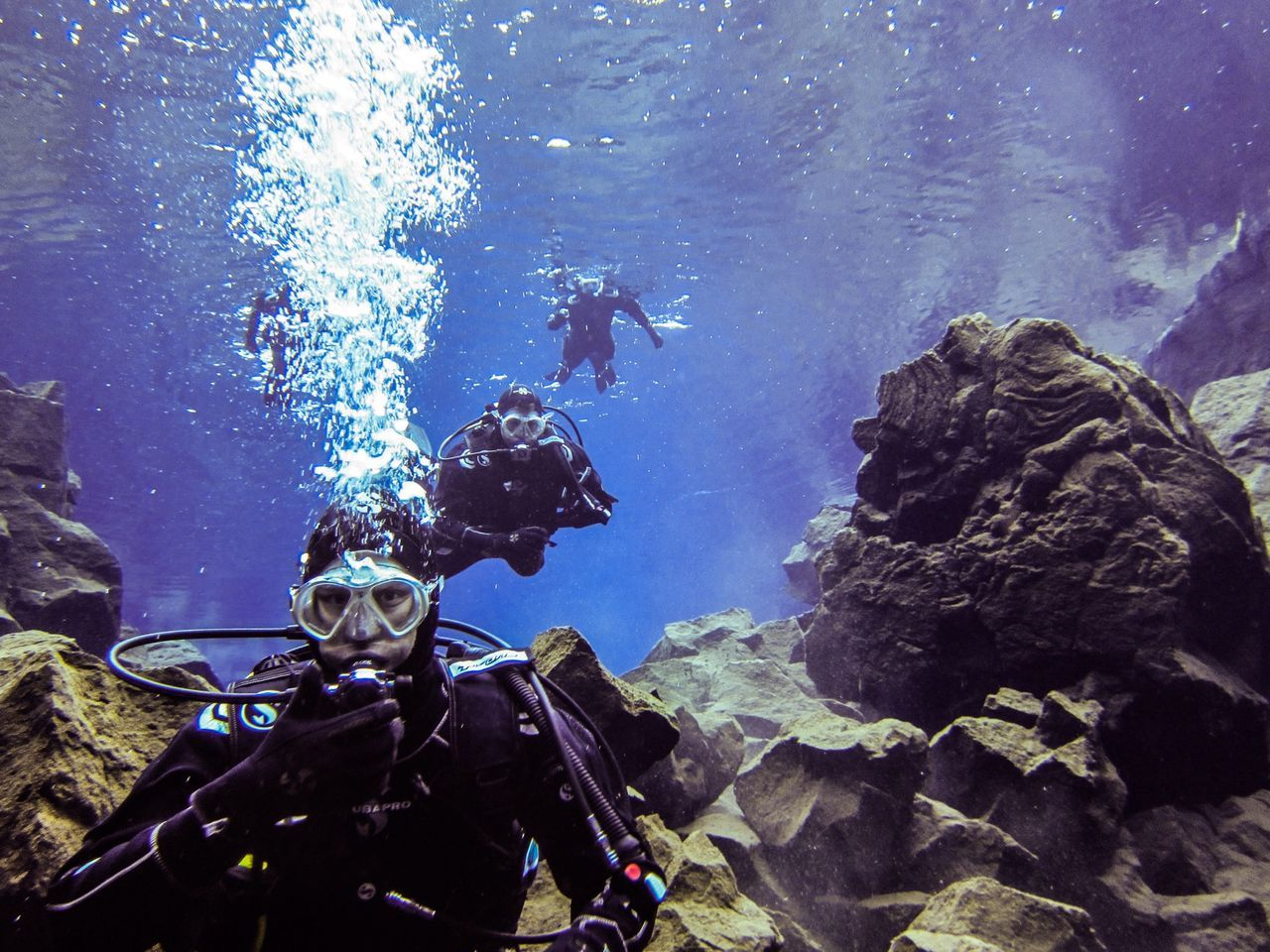 Iceland Ice Diving Totally Worth It Portrait Of A Friend Living Room Underwater Photography