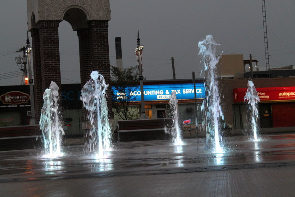Architecture Color Fountain Water Fountain Sky Water