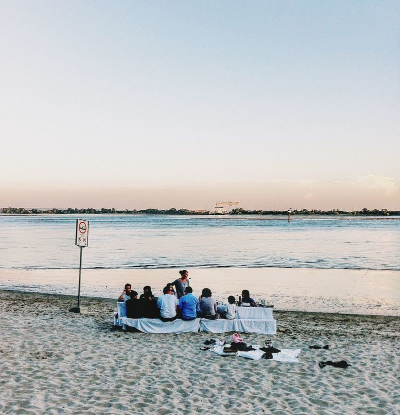 beach dinner Beach Photography Liveauthentic Lifestyle VSCO