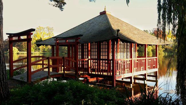 Hever Castle Hever Garden England Japan Style Japanese Tea House