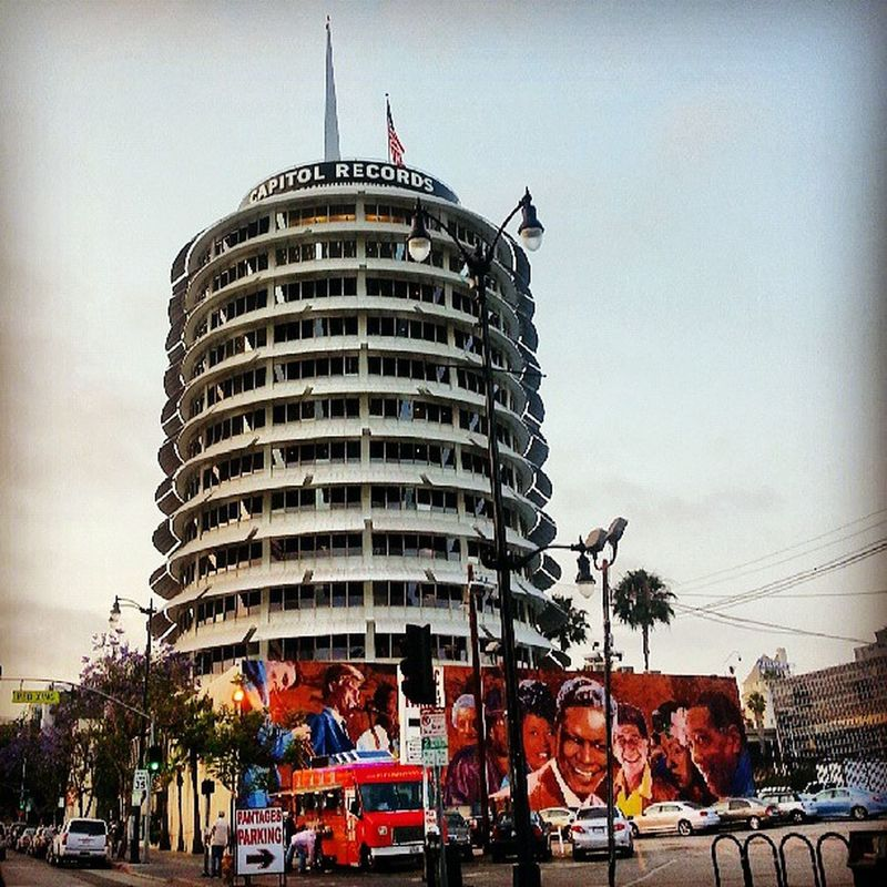 Capital Records Hollywood CA.