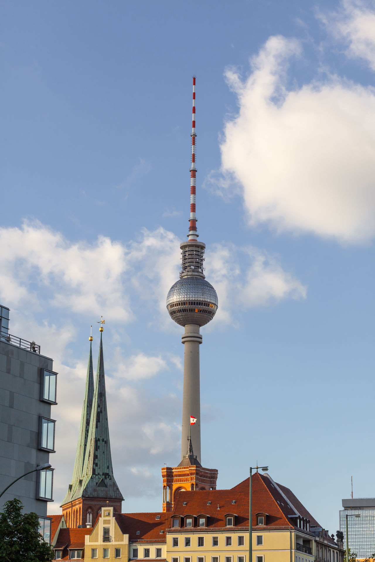Architecture Berlin Building Exterior Built Structure City Communication Day Germany Low Angle View No People Outdoors Sky Television Tower Tourism Tower Travel Travel Destinations Tv Tower Berlin