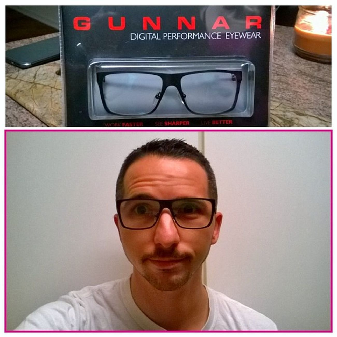Thanks for the Gunnaroptics babe. Amazing birthday ? gift.