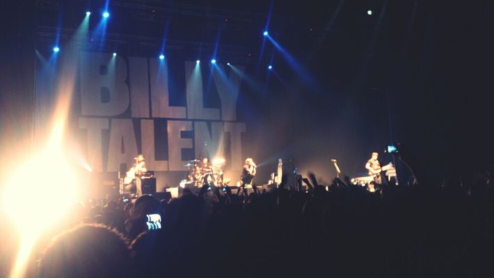 billy talent at Rockhal by Macy