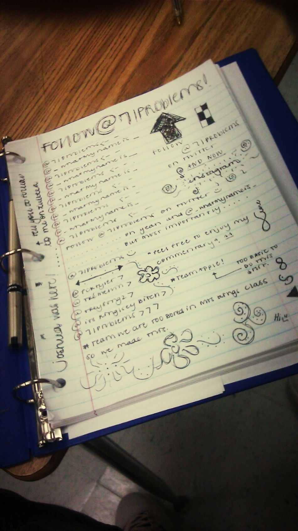What Beyonce Made In My Notebook