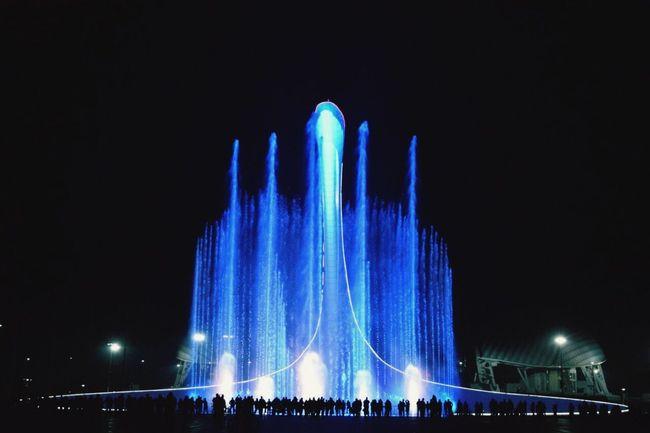 TakeoverContrast Sochi Fountain Olympic