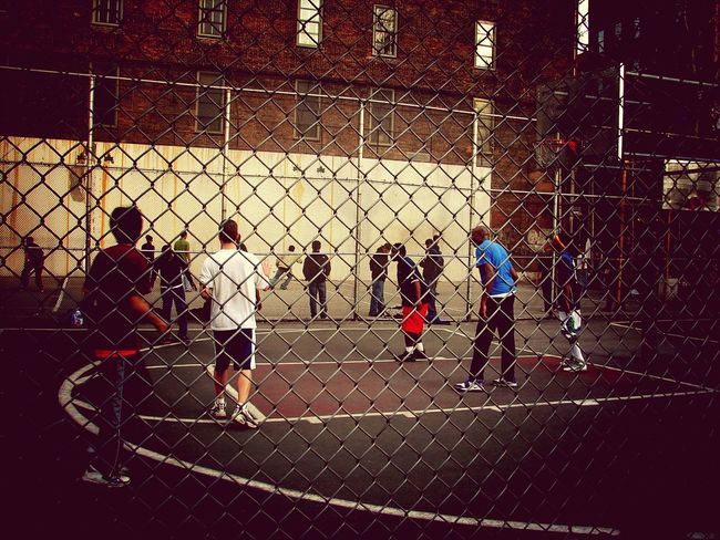 Showcase: February Streetbasketball Streetphotography Basketball Basketball Is Life Basketball Game From Where I Stand Youth Of Today Outdoors Outdoor Photography - New York City New York