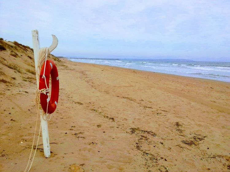 Life guard Rescue Maritime Photography Spain_beautiful_landscapes Spain_vacations Spainphotographer Murcia Provincia Costa Blanca Holiday Costa Blanca Alicante Province Spain Beachlovers Sand Dune Mediterranean Sea Spain ✈️🇪🇸 Beach Sand Sea Horizon Over Water Red FootPrint Summer