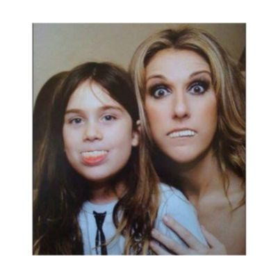 """She's """"crazy"""" and that's why i adore her! Son Celinedion Renecharles Crazy epic"""
