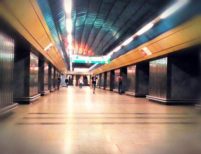 Prague m Indoors etro Transportation People Journey Airport Modern Illuminated Architecture Adult Day