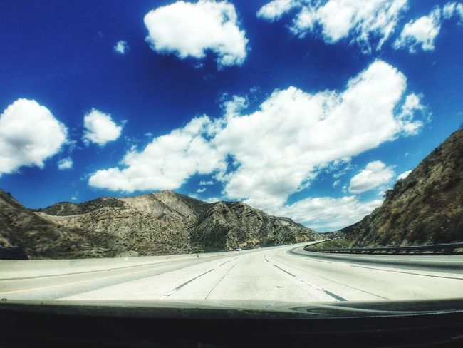 On The Road Road Trip! Going Home Check This Out Taking Photos Landscape Photography Random Landscape Enjoying Life From My Point Of View The Great Outdoors With Adobe Blue Skies ⛅ In The Car Chilling
