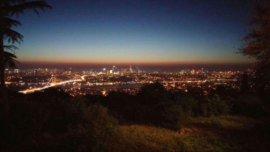 Manzara Istanbul Turkey Istanbull Günbatımı Büyüleyici Istanbulbogazi