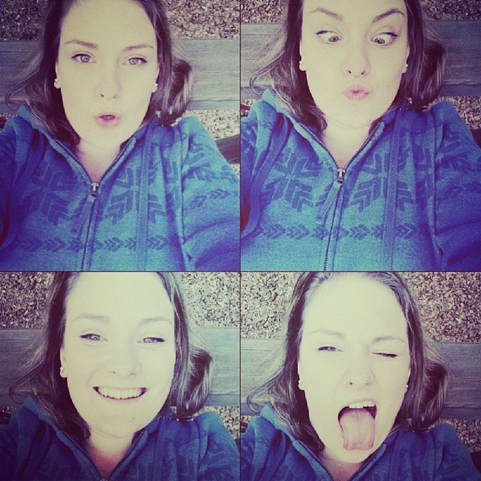 Haha Chillen Gread Day Crazy faces
