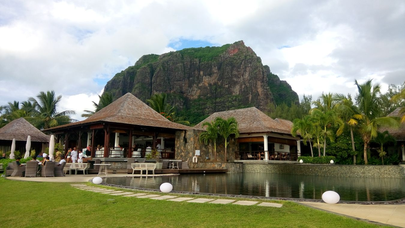 Mauritius In The Hotel Montain  UNESCO World Heritage Site Esclavitud Y Libertad. Le Morne-Mauritius