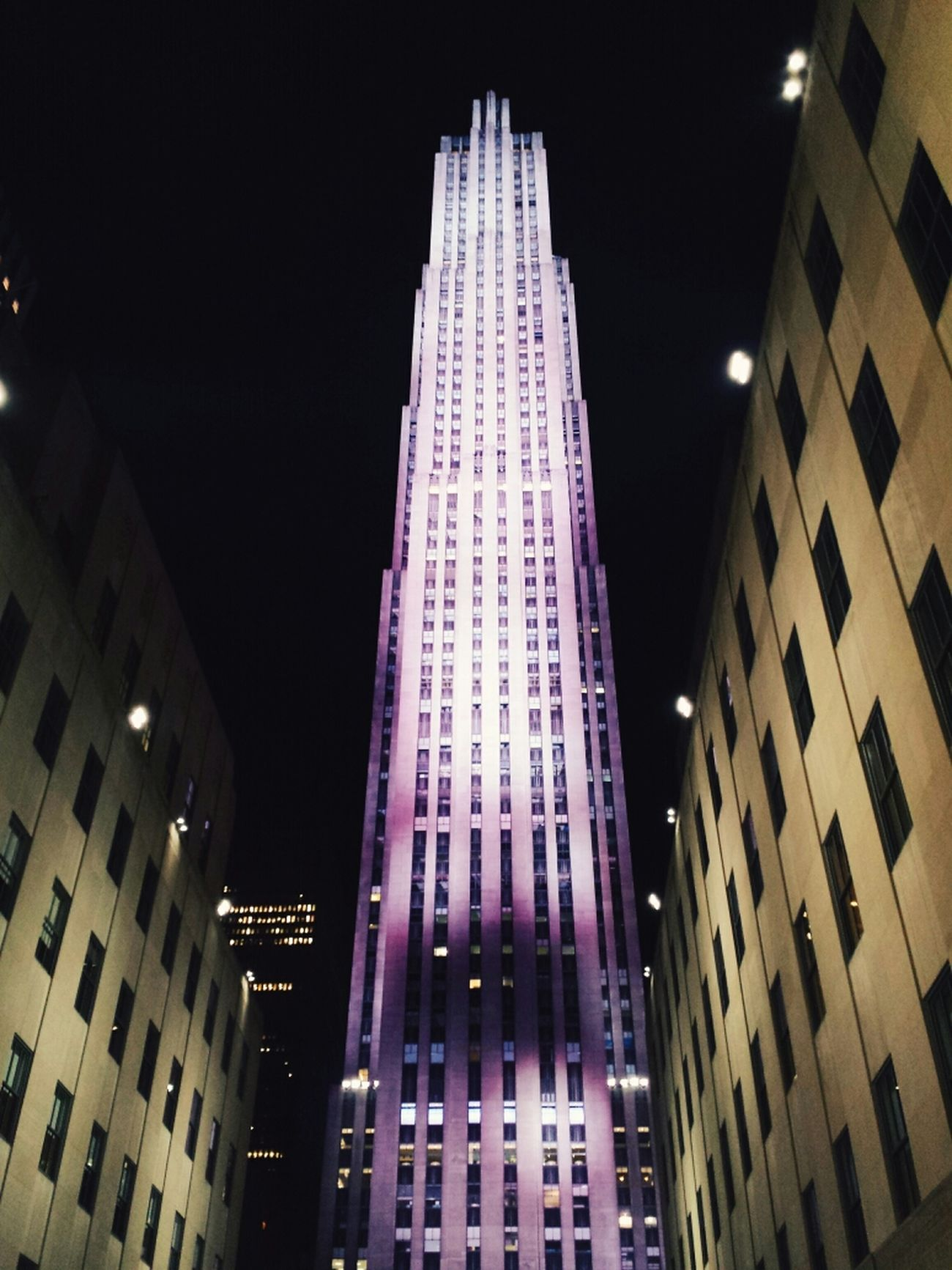 Rockerfeller NYC Summer Nights New York City