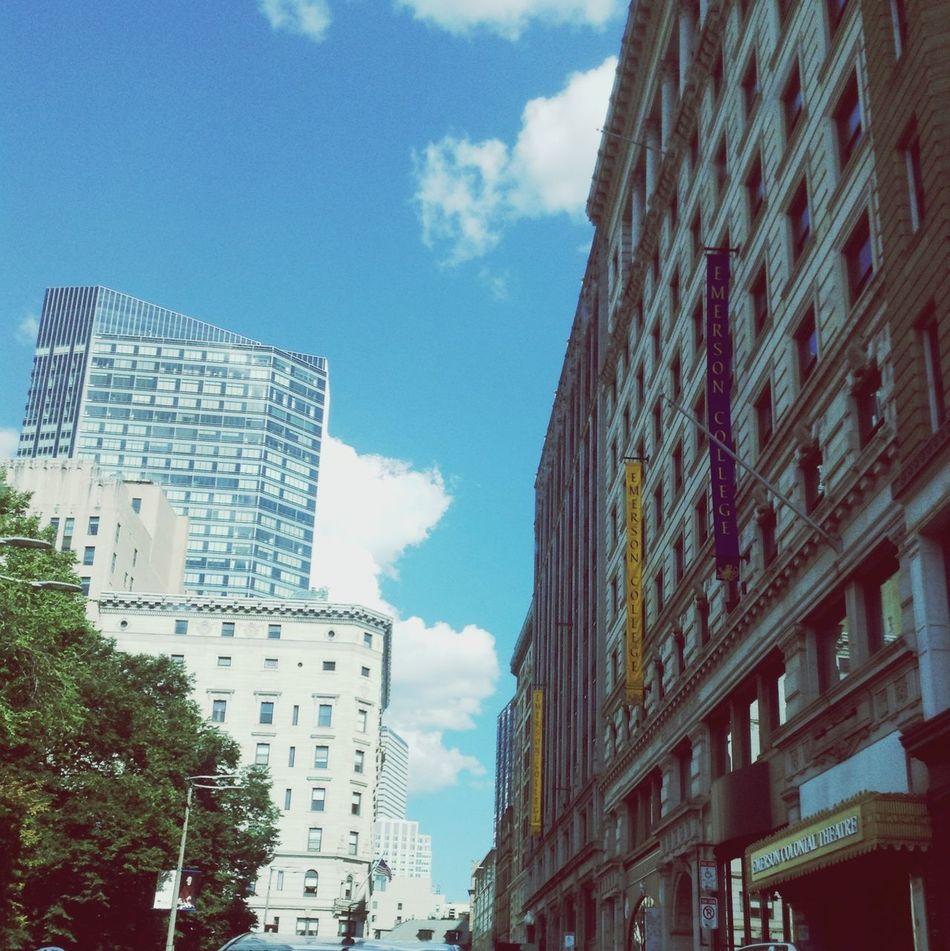 Boston my home