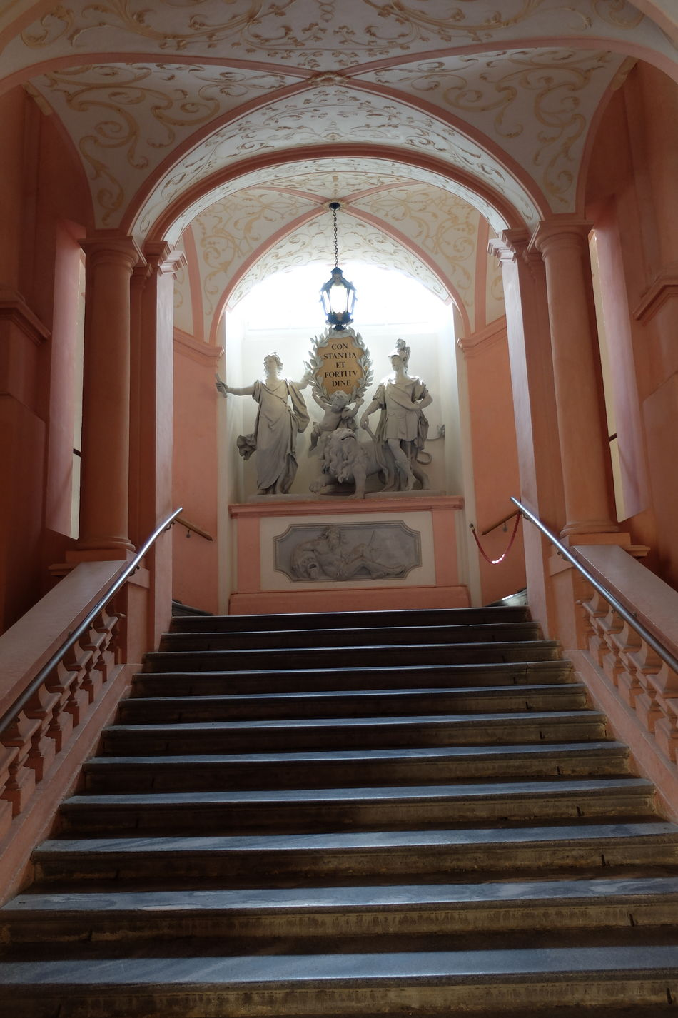 Treppen Arch Architecture Built Structure Day Indoors  Kloster Melk Melk No People Place Of Worship Religion Spirituality Staircase Steps Steps And Staircases STIFT MELK Travel Destinations