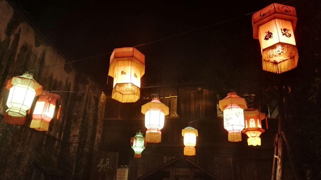 Hello World Lanterns Chinese Art Art Night Night View Night Lights Beautiful Light 灯笼