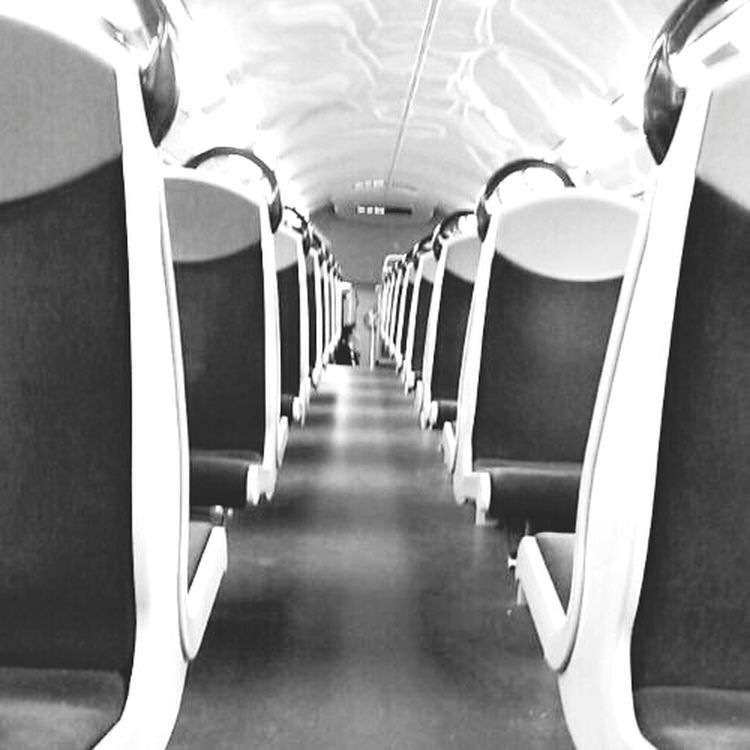 RER C Paris Symmetrical Perspective